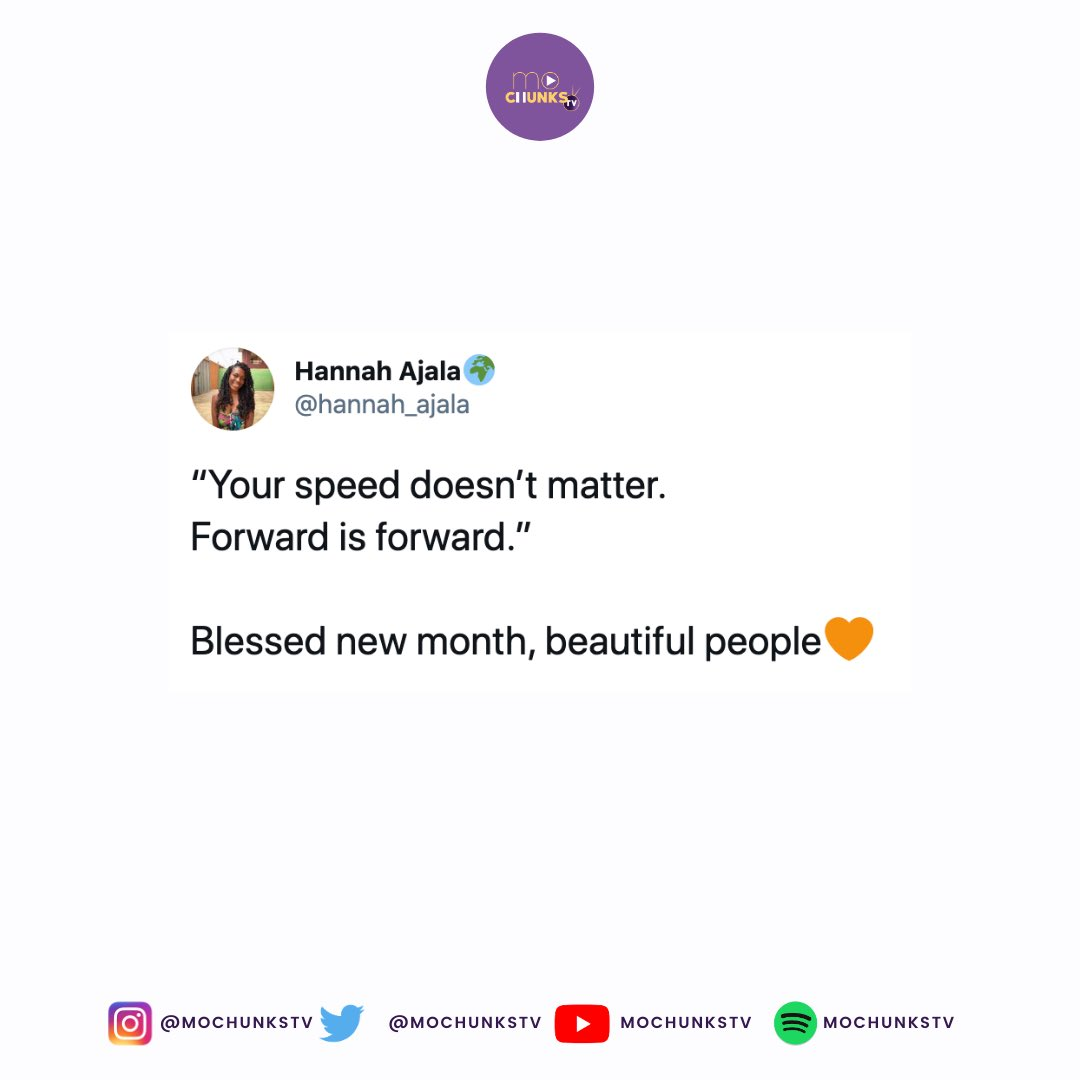 Forward is forward!   Thank you for the reminder @hannah_ajala 💜  #Motivation #QuoteOfTheDay