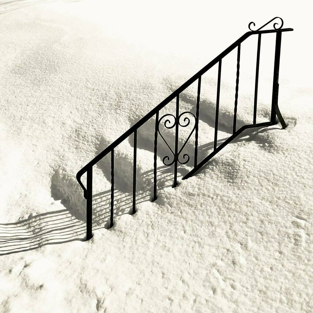Snow stairs. Forest Hill Cemetery. #AnnArbor #Michigan #Winter #cemetery #cemeteryphotography #snowstairs #snow #stairs