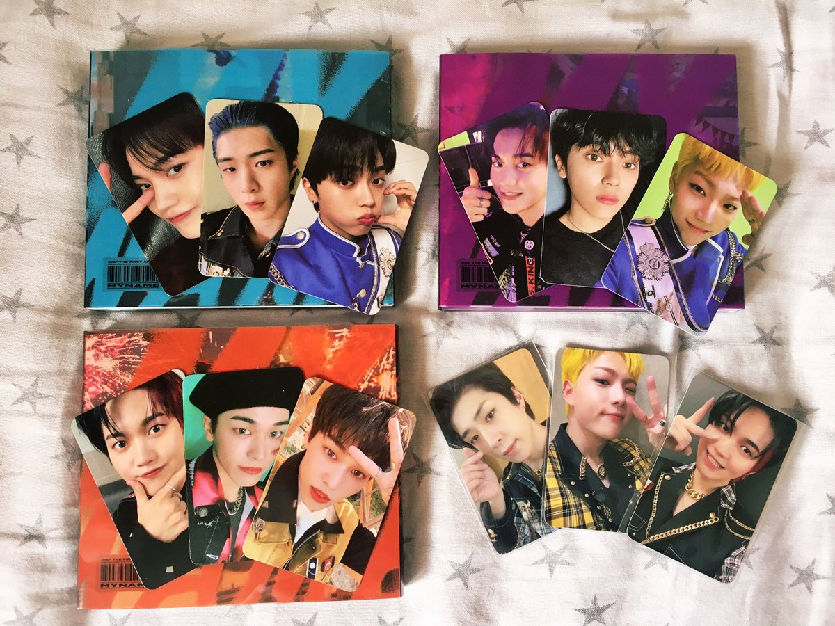 I'm literally in a pool of tears but at least my albums arrived 😭  #ONF1STWIN