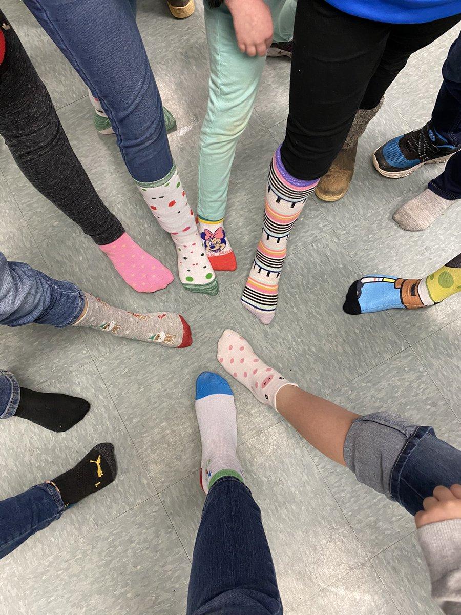 Sock Day hooray!#ReadAcrossAmericaDay #acesurfsup @cumminsjm @ACES_AP