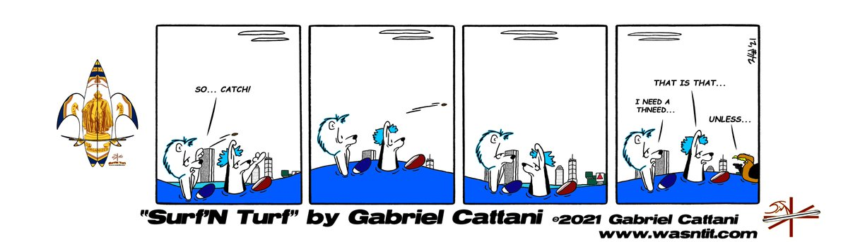 At the far end of town... >^≈^< #comics #drseussday  #ReadAcrossAmericaDay