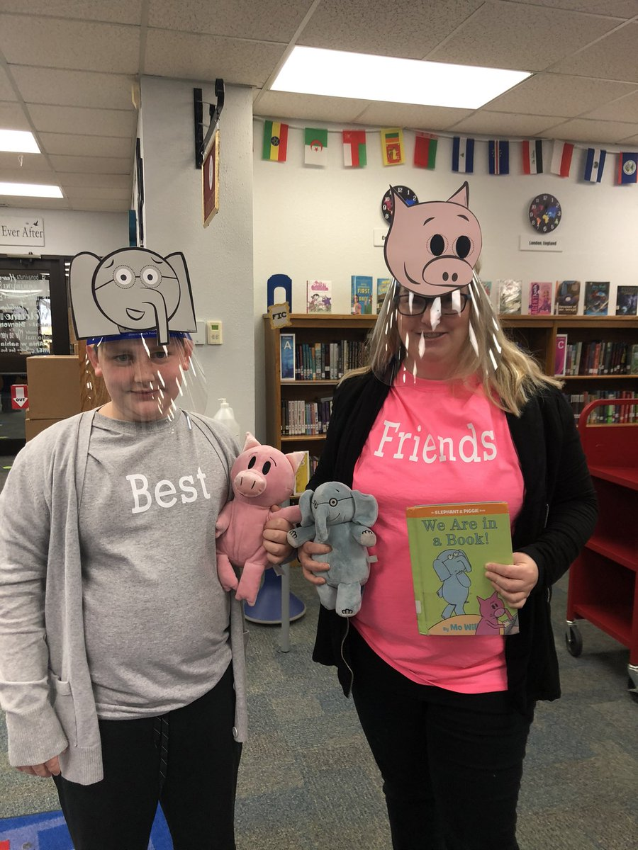Read Across America week continues with book character day! @CISDlib @PinkertonCISD #ReadAcrossAmericaDay