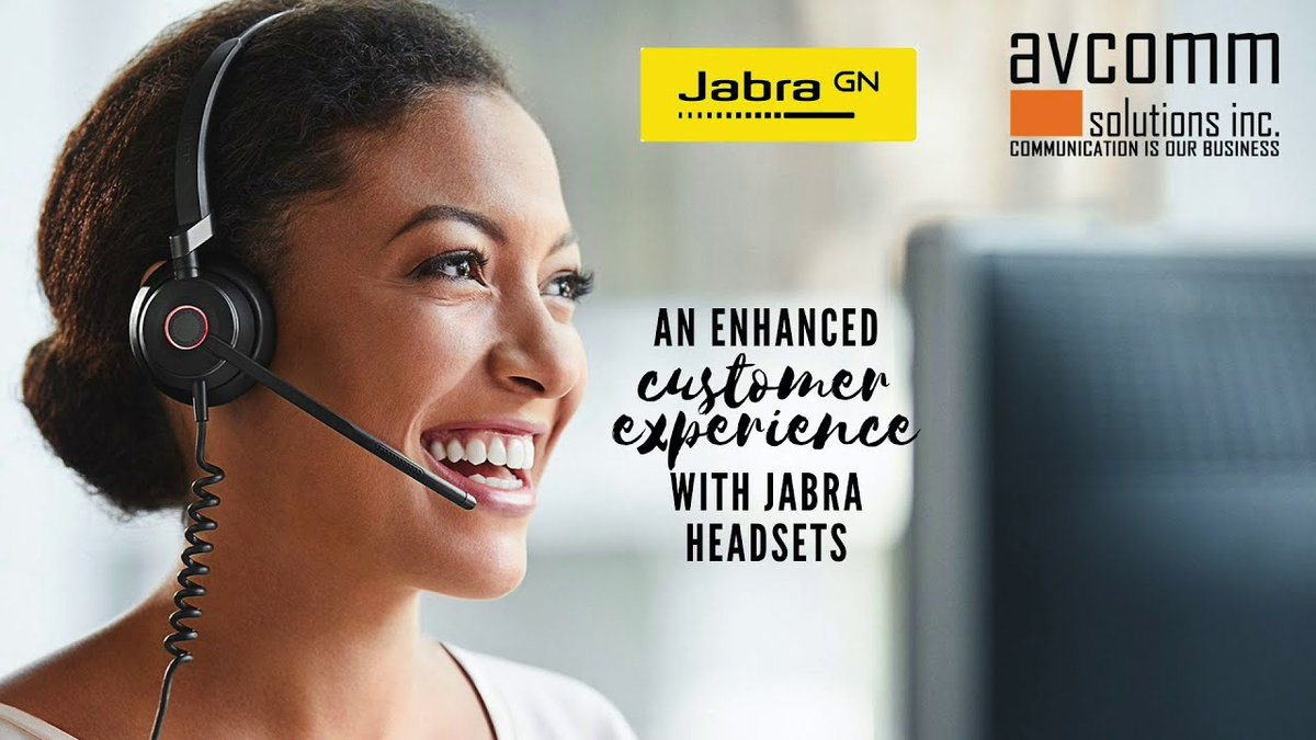 These Jabra digital headsets increase agent engagement AND enhance the customer experience. https://t.co/18dpDury6q #cctr #Jabra #headsets #analytics @We_are_Jabra @Jabra_US #Engage50 https://t.co/9DbXhwxHLd
