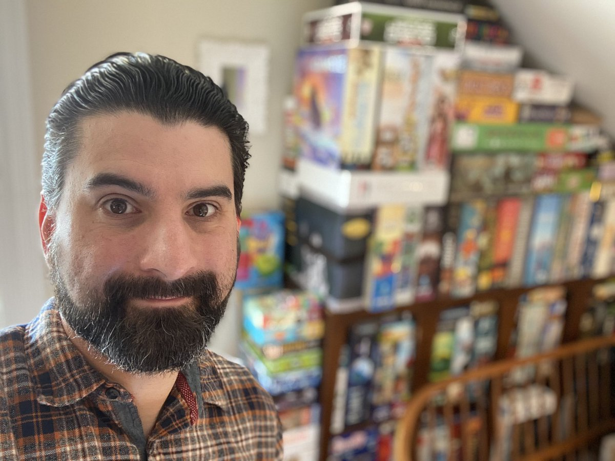 Felt cute, might delete later  Bonus points if you can identify any of the #boardgames behind me  #tuesdaythoughts