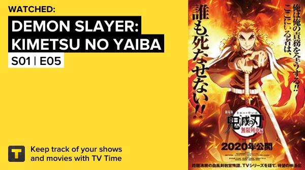 Demon Slayer: Kimetsu no Yaiba S01 | E05 My Own Steel  #demonslayerkimetsunoyaiba  #tvtime