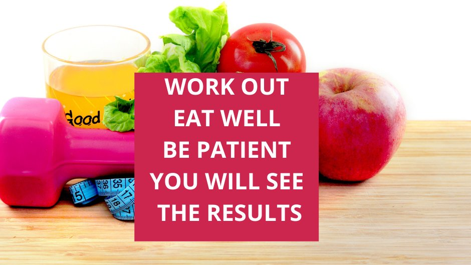 Work out,Eat well,Be patient,you will see the results #healthy #HealthyFood #HealthyLiving #healthymind #patients #workouts #workout
