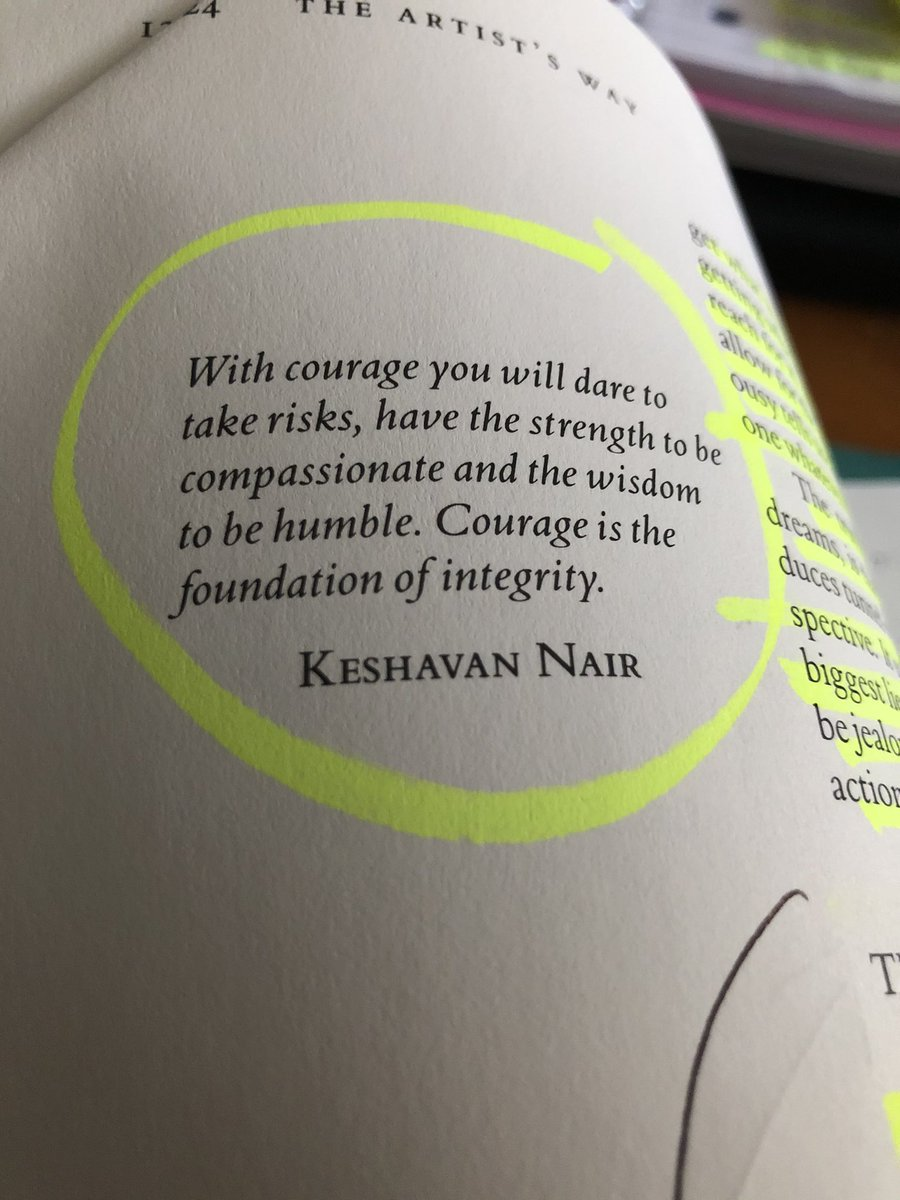 #integrity #courage
