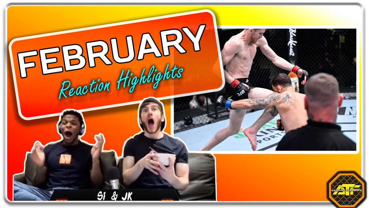 We've just uploaded our February reaction video!! Check it out, Like and Subscribe:  #MMA #UFC #MMATwitter