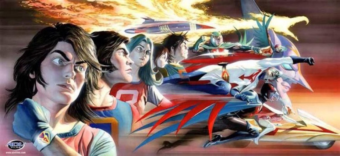 RT @thealexrossart: #tuesdayvibe #tuesdaymotivations #gforce #anime #manga @SalAbbinanti https://t.co/iG76cWqXOG