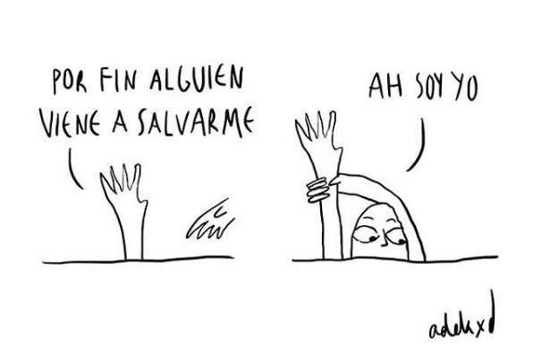RT @EduardoFloMa1: Buenos días,  la única persona que puede salvarte eres tú!. Estás de acuerdo? 🥰🙌 #FelizMartes https://t.co/8gwrJtsvlS