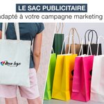 Image for the Tweet beginning: 🛍️ SAC PUBLICITAIRE 🛍️  Le sac