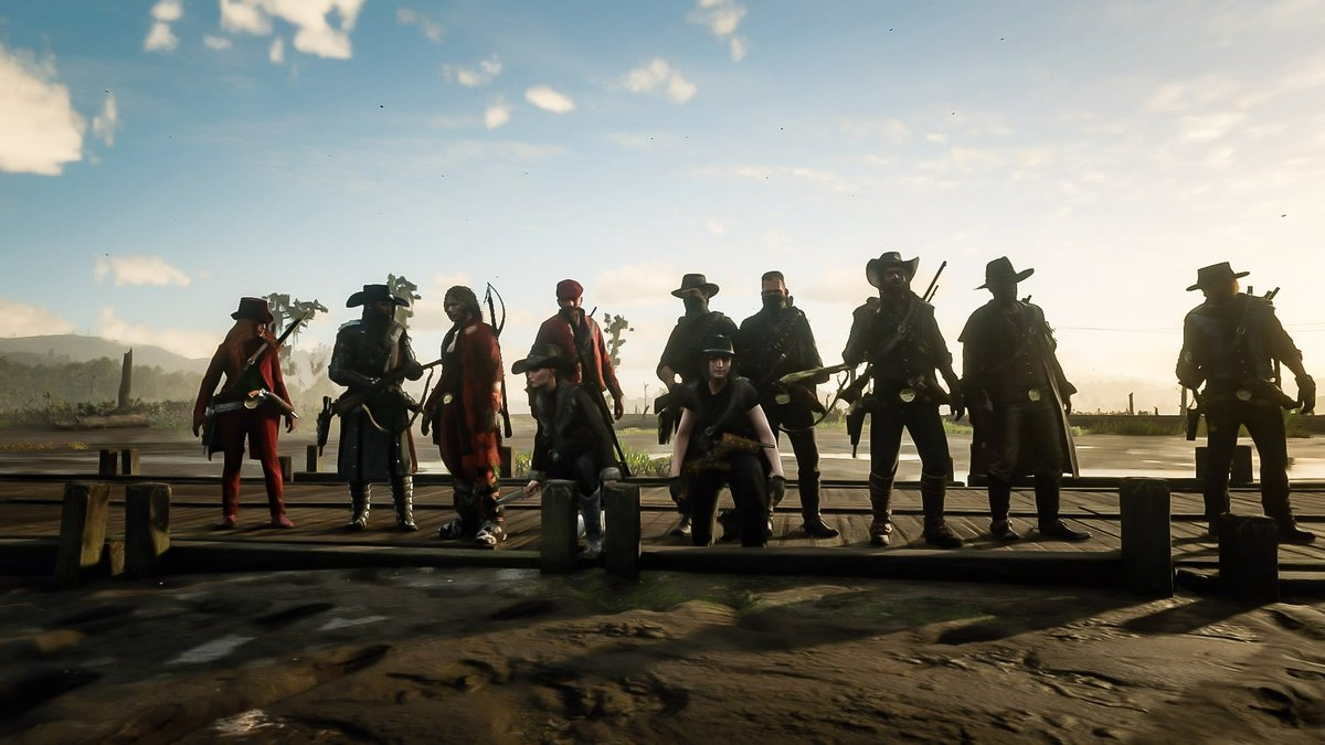 We had such a good turn out for the meeting last night! Welcome new knights to the family! #family #Friends #RedDeadRedemption2 #reddeadonline #gamers #playstation
