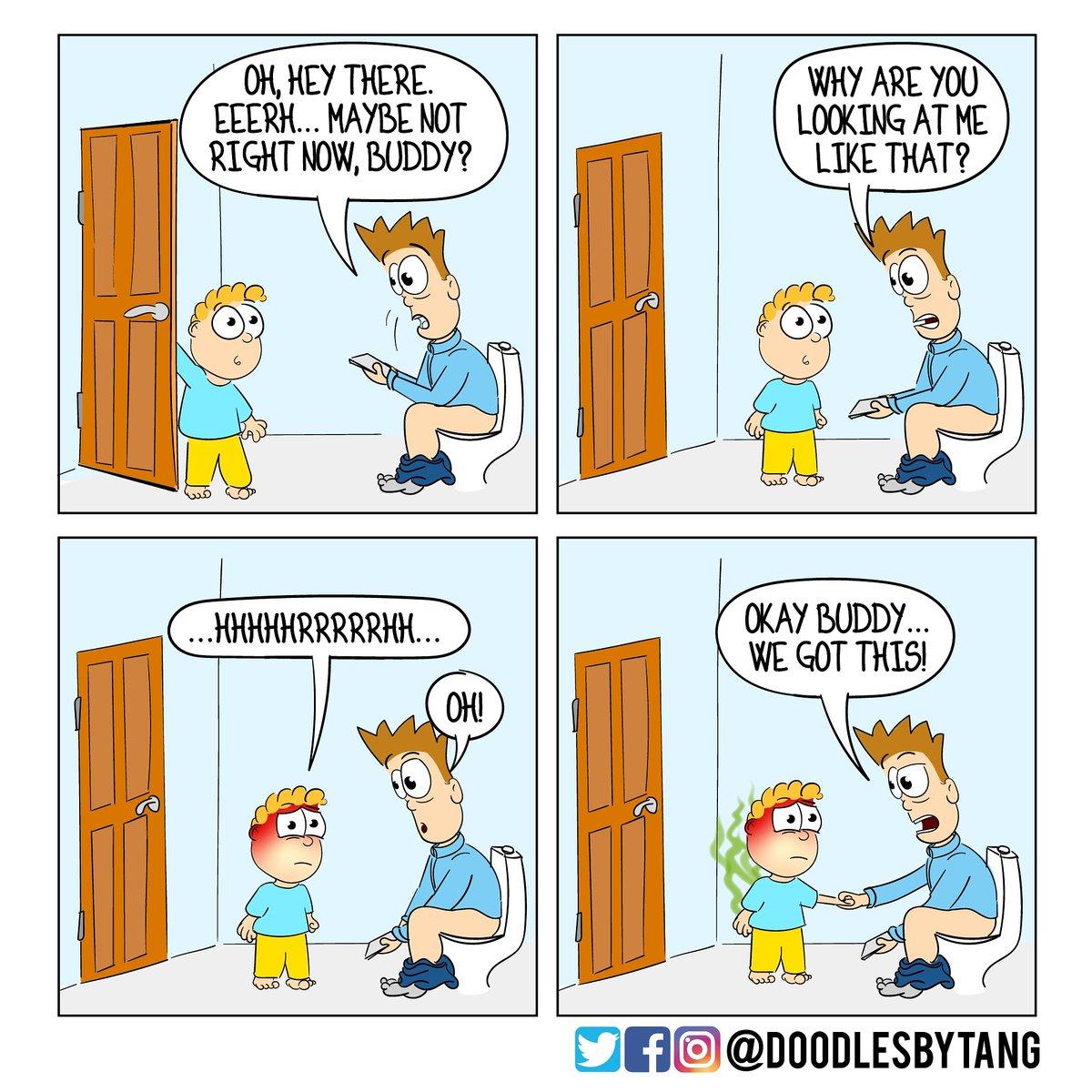 #toilethumor #parenting #dadjokes #dadlife #toddler #dad #parenting #family #familylife #familyfun #webcomic #webtoon #comicstrip #comicart #digitaldrawing #drawing #digitalartist #digitalart  #fun #funny #ilovecomics  #comicpage