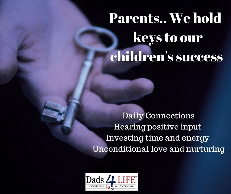 Positive input .. so important.    #Family #dads4life #Theyfollowourlead