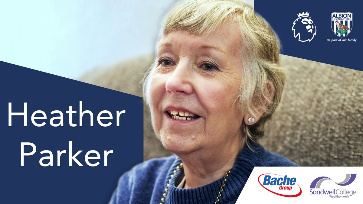 Heather Parker, lost her husband back in April after he contracted Covid-19. The Albion Foundation have been supporting Heather by delivering food parcels, and regular phone calls, to make sure Heather always has a helping hand. #WBA   @PLCommunities