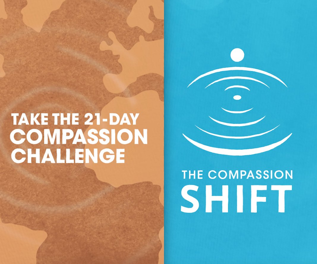 Take the 21-day compassion challenge. Starting March 6th.   Go to this link to find out more-   @EmoryCompassion | @TheCharter | @CbctTraining | @CIT_CCISE   #marchchallenge #tuesdayvibe #tuesdaythoughts