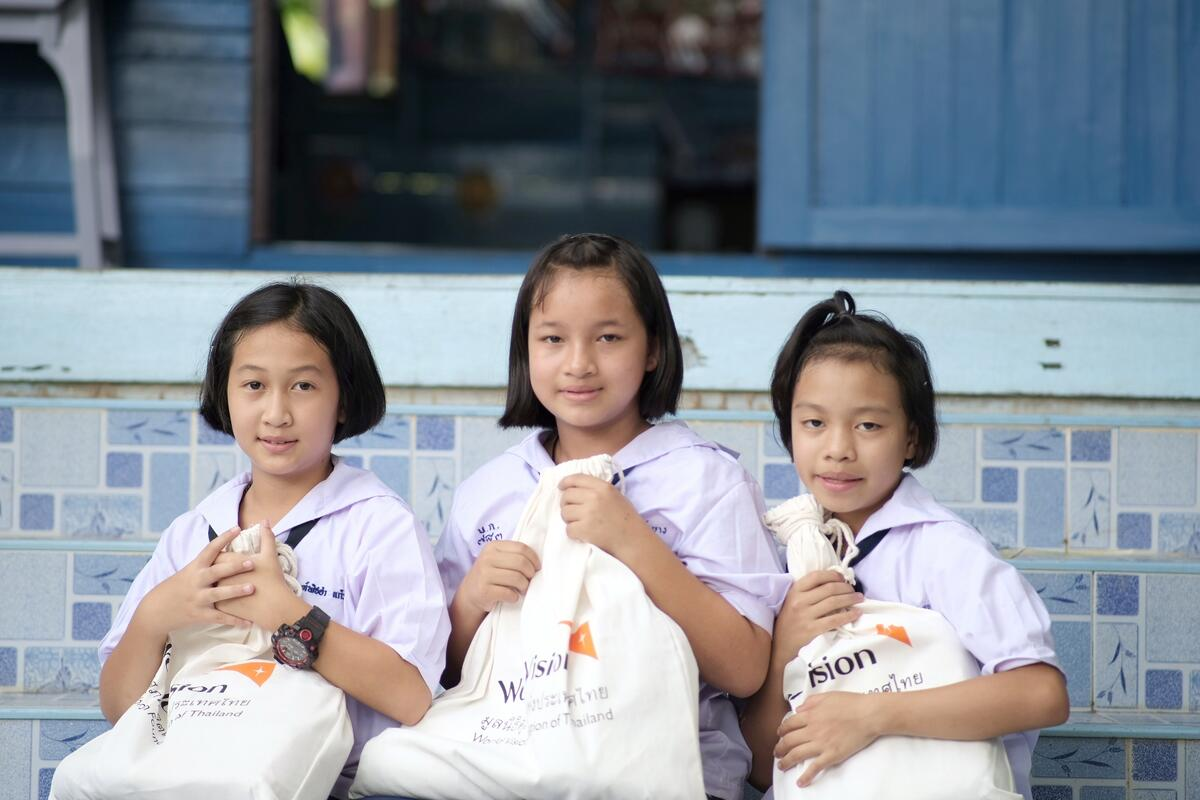 In Thailand, we've reached more than 200,000 people with essentials, education support, preventive information and PPE in our response to #COVID19.  Find out more about our emergency response here 👉    #TuesdayThoughts | #CharityTuesday