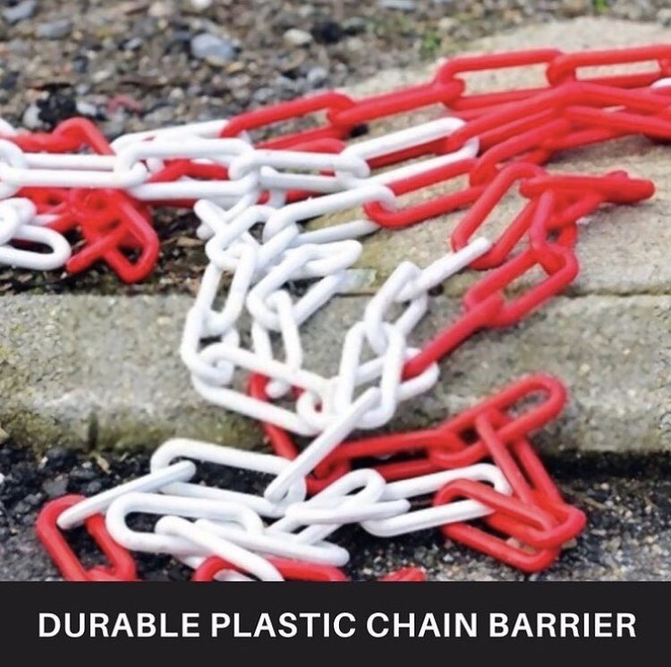 BuyEssentiels lightweight and durable #plastic chain create a strong visual barrier for indoor and outdoor safety.  But Now  📌 Link in Bio #buyessentiels #plastic #chain #link #chainlink #safety #tuesdaymotivations #tuesdayvibe