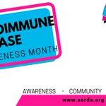 Image for the Tweet beginning: March is Autoimmune Disease Awareness