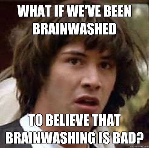 MAGA when the left says their brainwashed. #MAGATerrorist #convictanddisqualifytrump