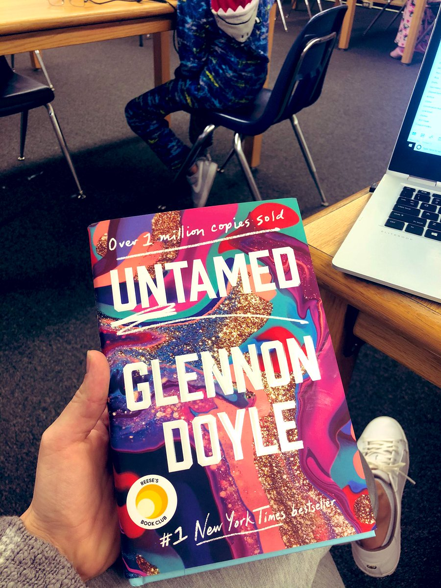It's one of my favorite days of the school year: #ReadAcrossAmericaDay @DrSeuss!Our kiddos are testing in their PJs 😊... a TELPAS test monitor needs a good book to read, and @GlennonDoyle 's Untamed is what I'm currently reading. I HIGHLY recommend. @PortHoustonES @HISDEastArea