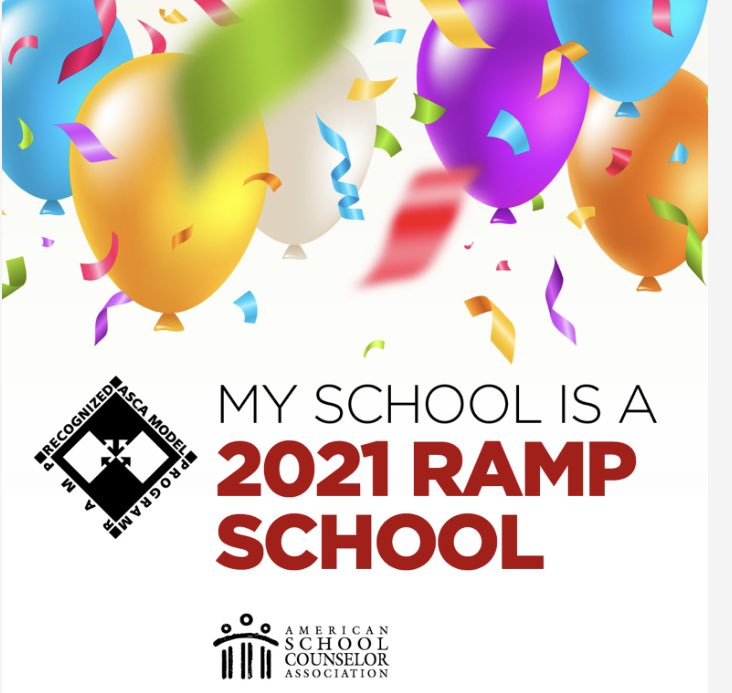 Exciting announcement! Because our school counselors are diligent and dedicated to our students, Rocky Run has officially obtained ASCA @ASCAtweets RAMP designation for our #schoolcounseling program! Congratulations!!! What is#RAMP?  Learn more: