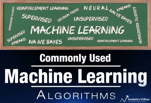 The Most Commonly used #MachineLearning #Algorithms (with #Python and R Codes): https://t.co/SSHq9HTfHl by @AnalyticsVidhya   #BigData #DataScience #AI #Statistics #Rstats #DataScientists #ReinforcementLearning https://t.co/QLFTyYAaYy