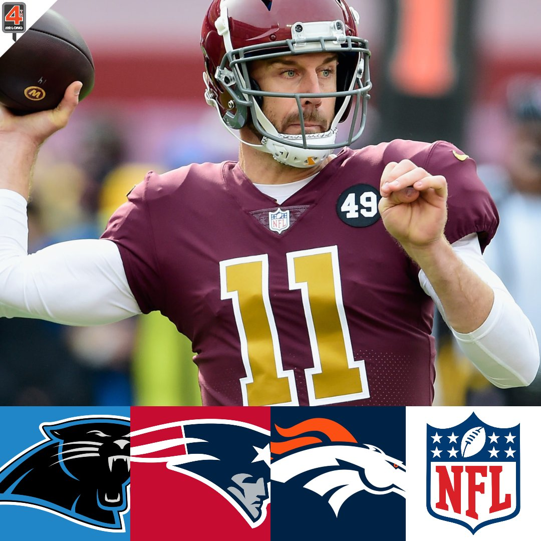Given the news that the #WashingtonFootball team likely will be moving on from Alex Smith, where do you think he'll end up?  @AlexanderKropp already mentioned the #Panthers, and I would throw the #Pats and #Broncos into the mix  Drop your thoughts⬇️  #NFL #NFLTwitter #NFLNews https://t.co/MdGnMFhfqr