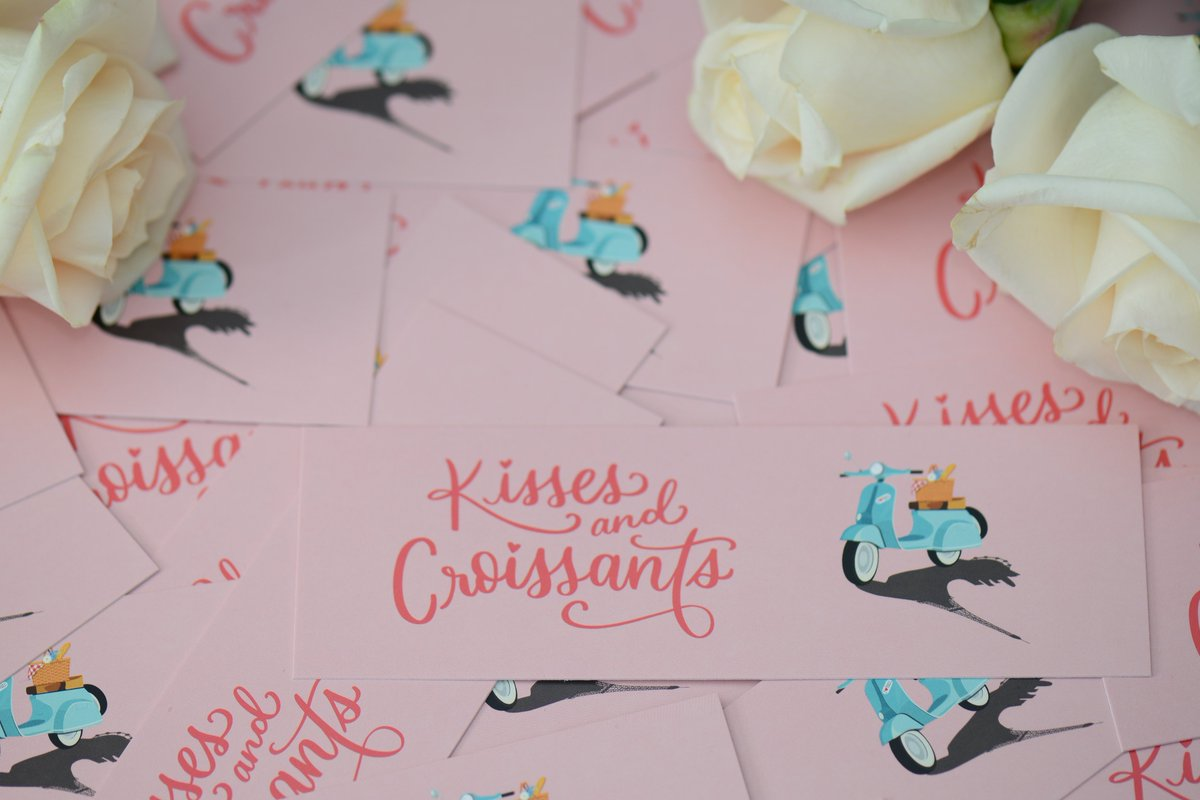 You can now pre-order a signed and personalized copy of KISSES AND CROISSANTS from @booksaremagicbk! It'll come with a bookmark featuring one of my favorite quotes in the novel on the back. Pre-order here: