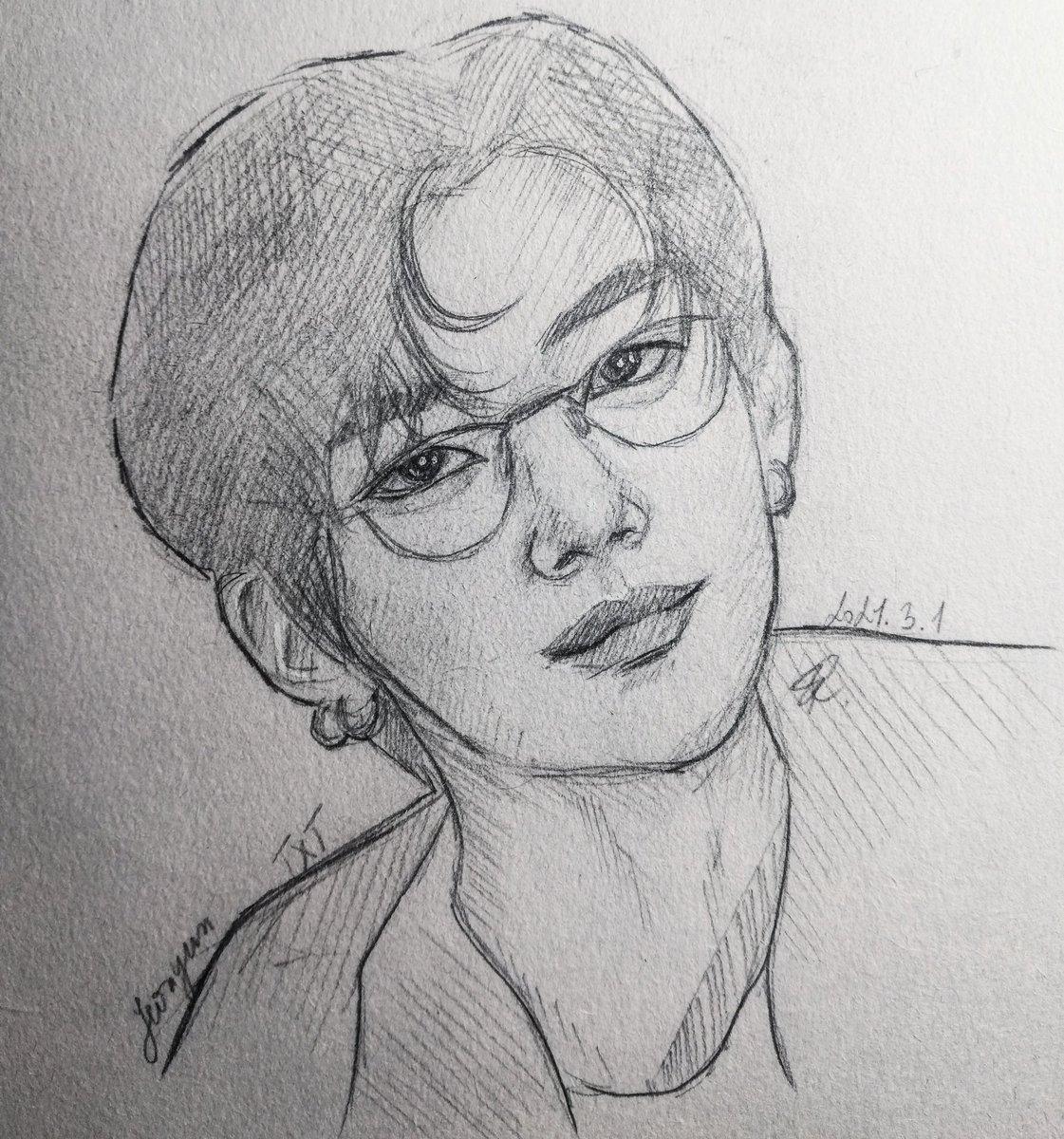 Quick sketch of Yeonjun #yeonjun #yeonjuntxt #txt #togetherxtomorrow #art #artist #sketch #sketchbook #draw #pencildrawing #bts #bighit #artoftheday #dailyart #taehyung #jungkook #jimin #suga #jhope #jin #rm #BTS_twt #TXT_YEONJUN #TXTfanart #TXT_연준