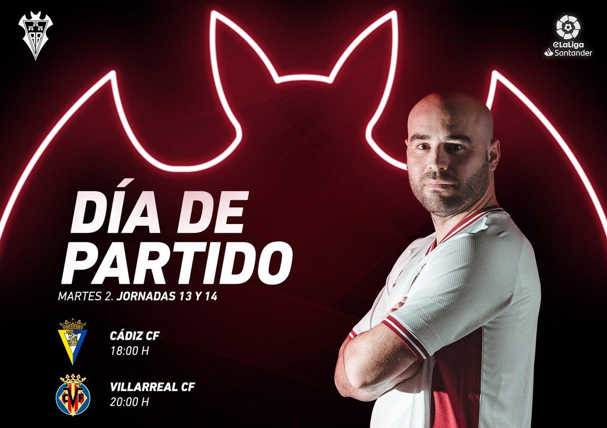 ¡Regresa la acción! 🎮⚽️ #eLaLigaSantander   Jornada 1️⃣3️⃣ 🆚 @Cadiz_CFESports  🕕 18 horas   Jornada 1️⃣4️⃣ 🆚 @CVFeSports  🕗 20:00 horas   📺  👾   ¡Vamos, @CaTa8AB!