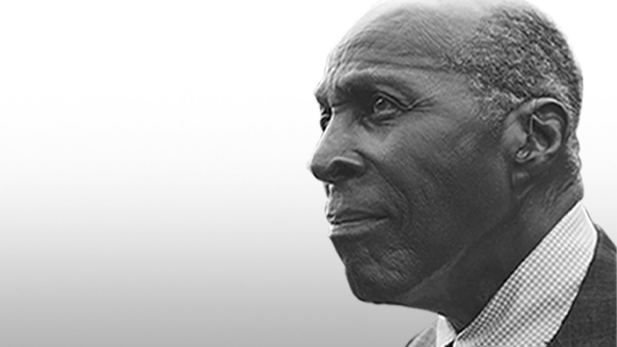 """We are deeply saddened by the passing of civil rights activist Vernon Jordan. Celebrate his legacy with the recent documentary """"Vernon Jordan: Make It Plain,"""" available to stream with PBS Passport: ."""