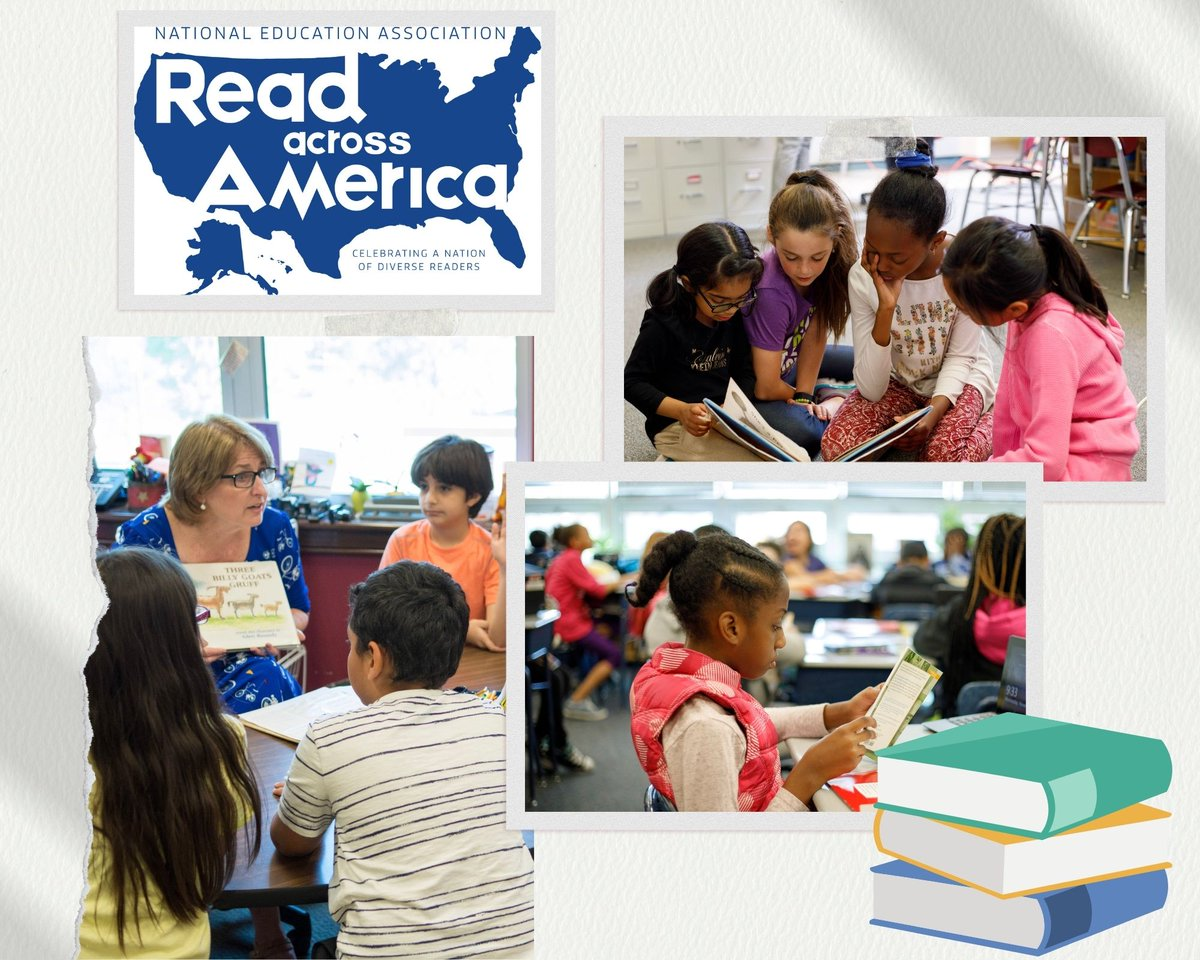 Happy #ReadAcrossAmericaDay! Join students, teachers, parents & community members around the nation in celebrating the joy of reading!  Share your favorite childhood books with us using #FCPSreads❤️.    📚Reading is one of the best exercised for the brain.📚