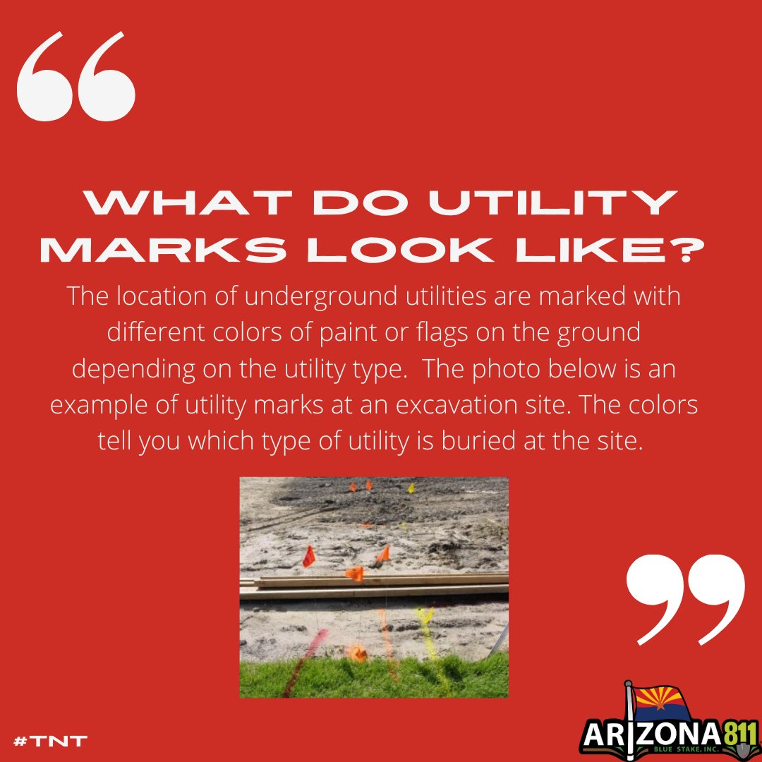 If utilities marks are damaged, do not hesitate to contact Arizona 811 for a locator to remark.…
