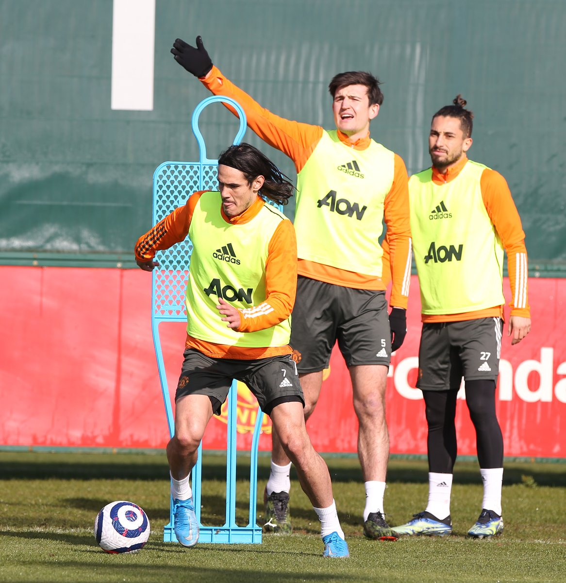 The players prepare for a visit to the Palace. #MUFC #GGMU