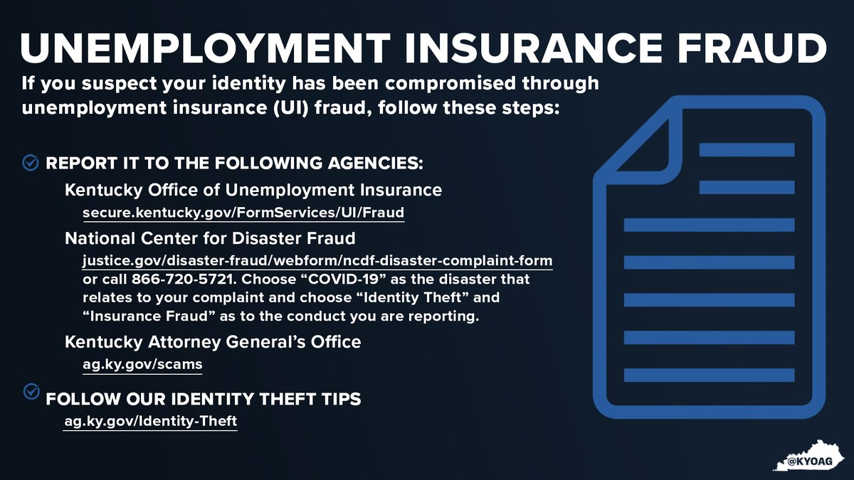 During the COVID-19 pandemic, there has been an increase in unemployment insurance fraud. If you or someone you know is a victim of UI fraud, report it to the agencies below, and visit  for more information. #NCPW2021