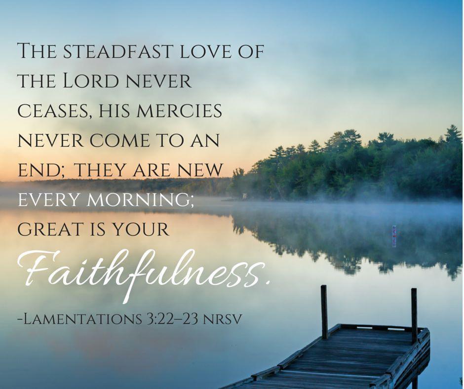 God is faithful.  God's promises are true.  #tuesdaymotivations