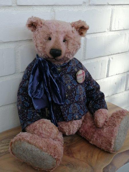 Klim by Marina Uvarova   #handmade #OOAKbears #bear