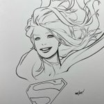 Image for the Tweet beginning: Supergirl Commission