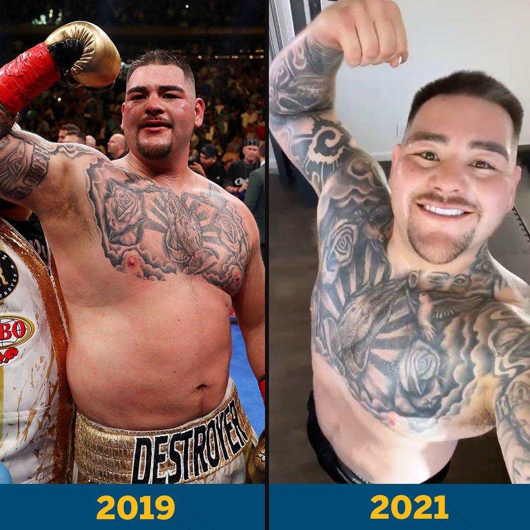 Andy Ruiz has been putting the work in 💪