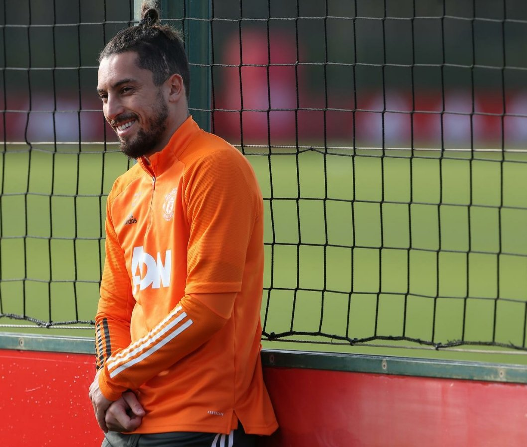 Alex Telles will be hoping he won't be watching from the touchline against Palace. #MUFC #GGMU #Telles