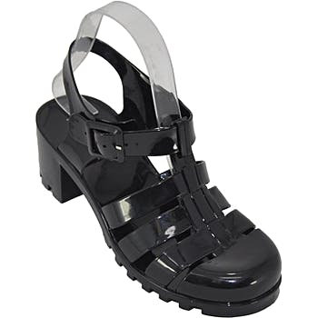 ONLY 5 AVAILABLE GET YOURS NOW!!!  Vintage Adult Blush Black Jelly Shoes  #shoes #womensshoes #sandals #strappyjellies #jellyshoes #retroshoes #retrojellyshoes #trendyplatforms #wedges  #etsy #shop #love #followback #Twitterers #tweegram #photoof