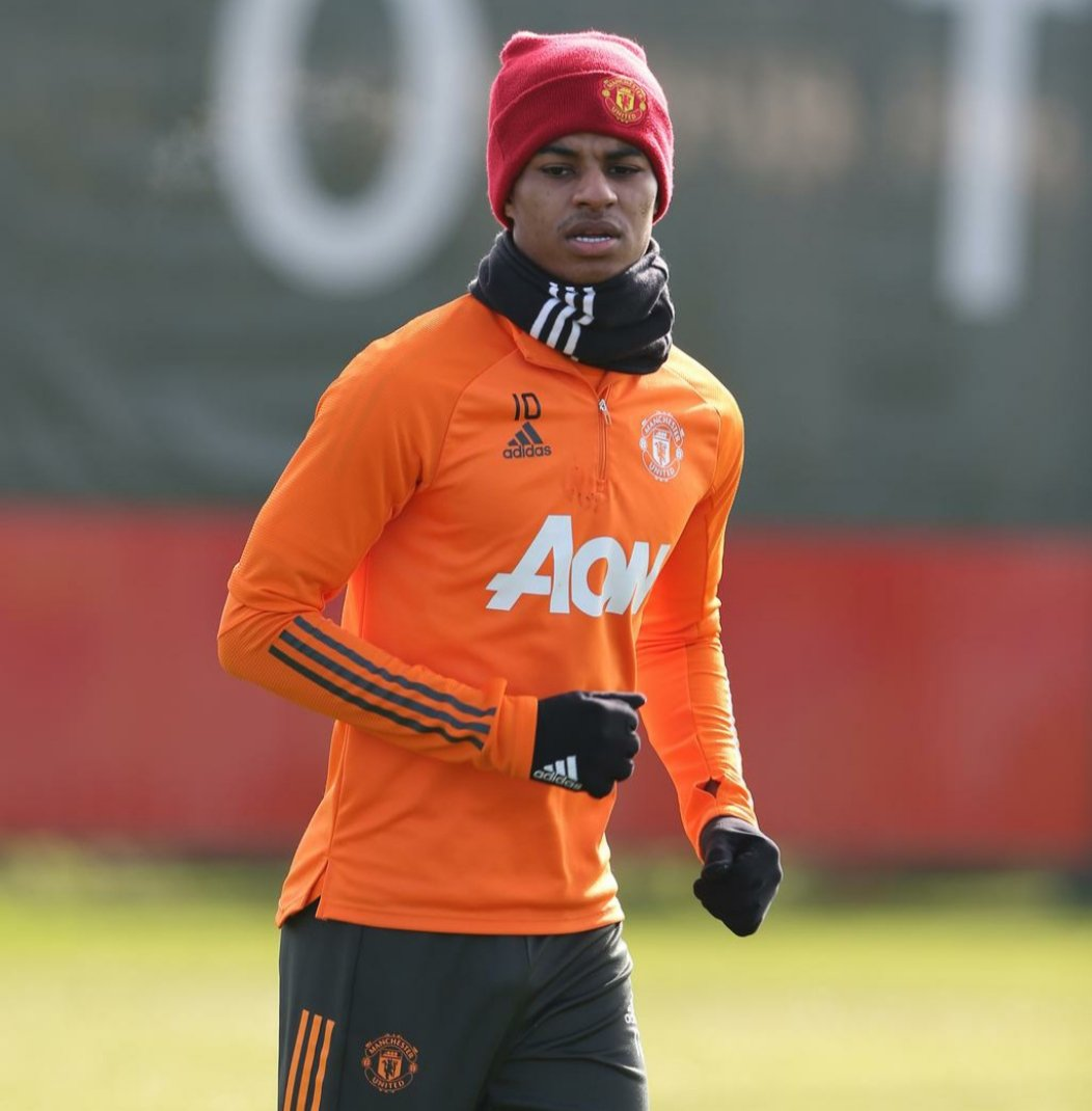 Marcus Rashford will be looking for goals and 3 valuable points to go along with his MBE when he visits the Palace on Wednesday. #MUFC #GGMU #Rashford