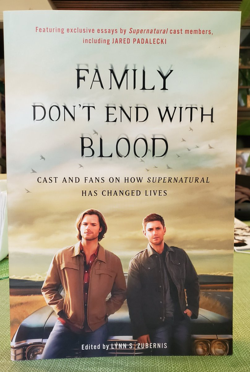 If you're a fan, celebrate #WorldBookDay this week with two books with chapters written by the actors AND the fans, about how the shows we love can change all our lives. Info at  #Supernatural #SPNFamily
