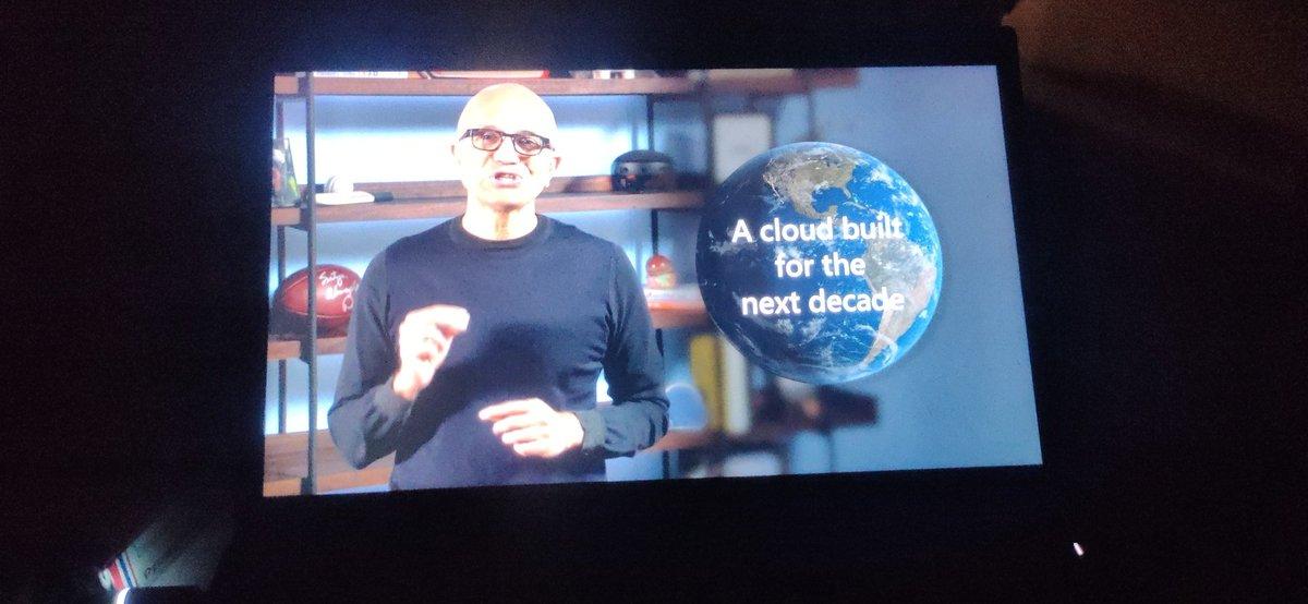 @satyanadella Namaste in Microsoft Ignite 2021.   #MSIgnite