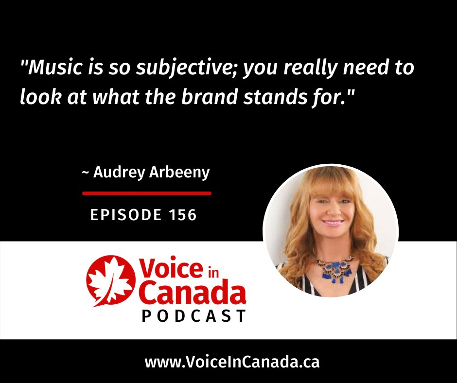 """Music is so subjective; you really need to look at what the brand stands for."" - Audrey Arbeeny @audreyarbeeny #music #sonicbranding #branding #brand #voice #voiceonline"