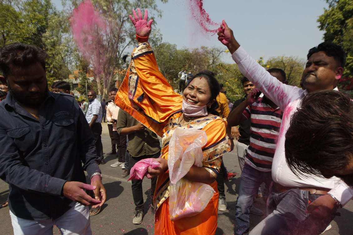 BJP wins 52.7% votes in Municipality elections, Congress vote share 29.09%
