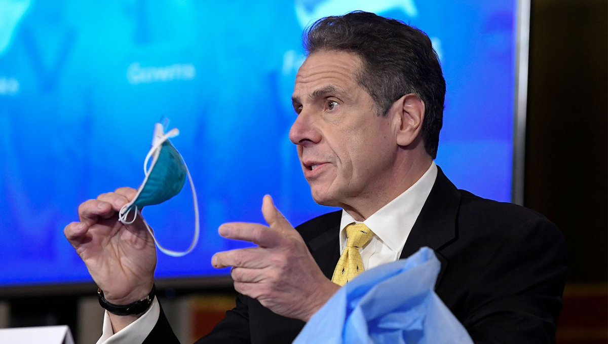 "#Cuomo Assures Public He Always Kept Mask On While Sexually Harassing Women  Governor Cuomo made it clear he always wore a mask during these interactions.  ""I'm a serial sexual preditor, not a socially irresponsible monster.""  #tuesdayvibe"
