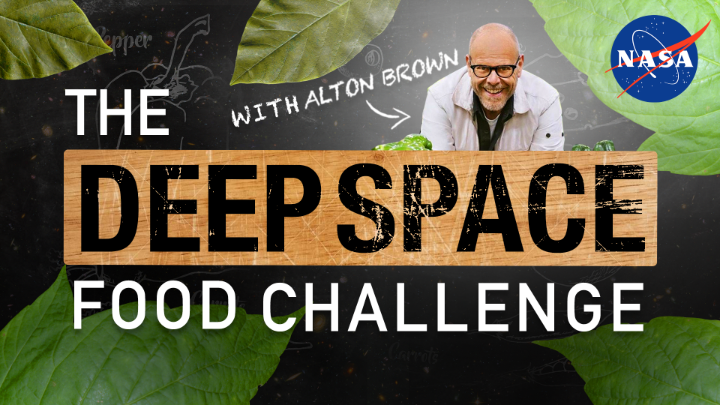 🍔 YOU can help us engineer the menus of tomorrow's space explorers while making an impact here on Earth. Step into the kitchen with @AltonBrown to learn more about our @DeepSpaceFood Challenge >>