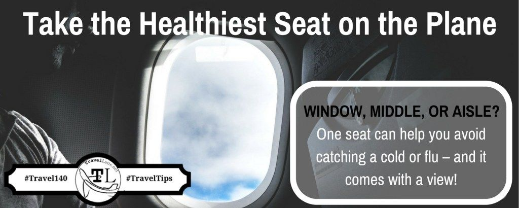 In this age of deep cleanings and face masks on every flight, you may wonder: Which is the healthiest seat on the plane? Here's where you should be sitting:  #travel #airplanes